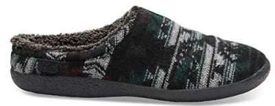 TOMS Mens Berkeley Slippers Forest Wool