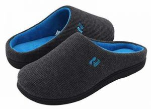 RockDove Womens Two Tone Memory Foam Slipper 1