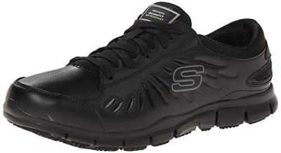 Skechers for Work Womens Eldred Slip Resistant Shoe