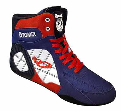 Otomix Ninja Warrior Bodybuilding Boxing Shoe Female Red White Blue