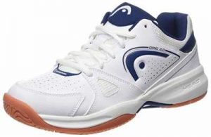 HEAD Mens Grid 2.0 Low Racquetball Squash Indoor Court Shoes