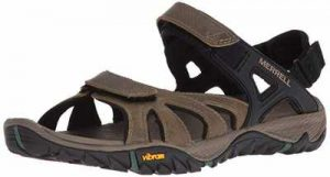 Merrell Mens All Out Blaze Sieve Convertible Water Sandal