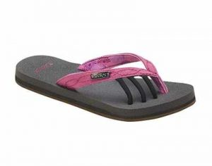 Toesox Women's Serena Five Toe Sandal for Yoga Surf and Beach Casual Comfort Recovery flip Flop
