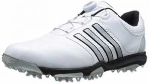 adidas Mens Tour360 X BOA Cleated Golf Shoe