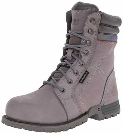 Caterpillar Womens Echo Waterproof Steel Toe Work Boot