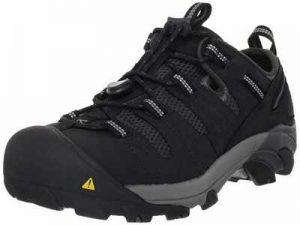 KEEN Utility Mens Atlanta Cool Steel Toe Work Shoe