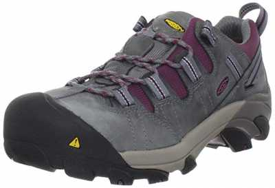 KEEN Utility Womens Detroit Low Steel Toe Work Shoe