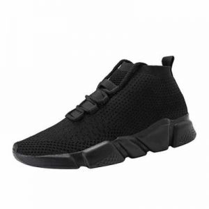 Mevlzz Mens Casual Athletic Sneakers Knit Running Shoes