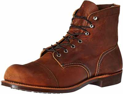 Red Wing Heritage Mens Iron Ranger 6 Vibram Boot