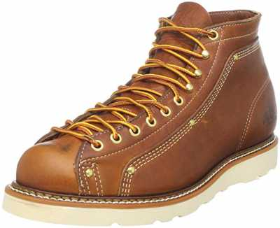Thorogood Mens American Heritage Lace To Toe Roofer Boots